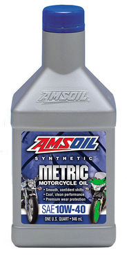 Amsoil Metric Motorcycle Oil 10W-40